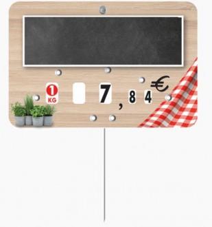 Étiquette pour boucherie en pvc cristal - Devis sur Techni-Contact.com - 4