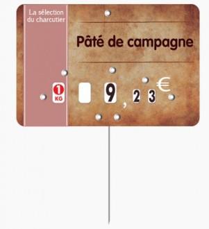 Étiquette pour boucheries parchemin - Devis sur Techni-Contact.com - 1