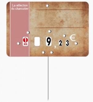 Étiquette pour boucheries parchemin - Devis sur Techni-Contact.com - 2