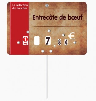 Étiquette pour boucheries parchemin - Devis sur Techni-Contact.com - 3