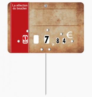 Étiquette pour boucheries parchemin - Devis sur Techni-Contact.com - 4