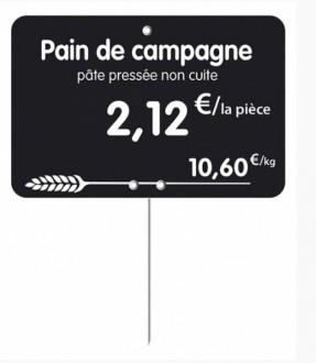 Étiquette pour boulangerie pâtisserie - Devis sur Techni-Contact.com - 3