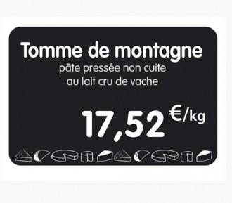 Étiquette pour fromageries crèmeries - Devis sur Techni-Contact.com - 1