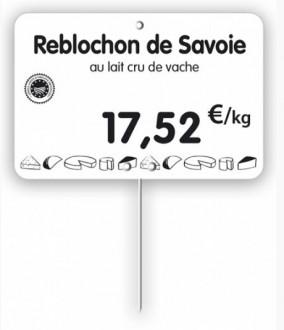 Étiquette pour fromageries crèmeries blanche - Devis sur Techni-Contact.com - 3