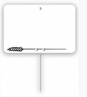 Étiquette pour pâtisserie blanche - Devis sur Techni-Contact.com - 1