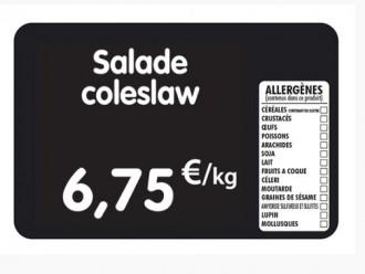 Étiquette pour tous commerces allergènes - Devis sur Techni-Contact.com - 1