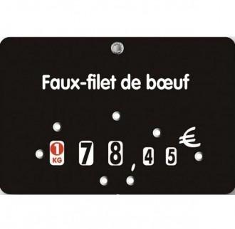 Étiquette prix boucherie classique - Devis sur Techni-Contact.com - 2