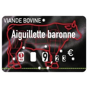 Étiquettes à roulettes pour boucheries - Devis sur Techni-Contact.com - 1