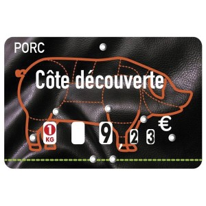 Étiquettes à roulettes pour boucheries - Devis sur Techni-Contact.com - 2