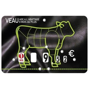 Étiquettes à roulettes pour boucheries - Devis sur Techni-Contact.com - 3