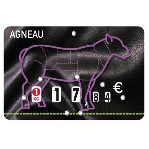 Étiquettes à roulettes pour boucheries - Devis sur Techni-Contact.com - 8