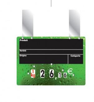 Etiquettes affichage prix fruits et légumes - Devis sur Techni-Contact.com - 3