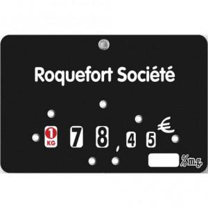 Etiquettes boucheries neutres à roulettes - Devis sur Techni-Contact.com - 1