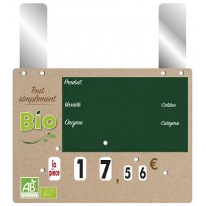 Étiquettes de prix de produits bio - Devis sur Techni-Contact.com - 3