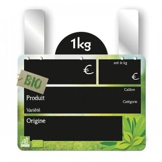 Etiquettes fruits et légumes bio frais - Devis sur Techni-Contact.com - 2