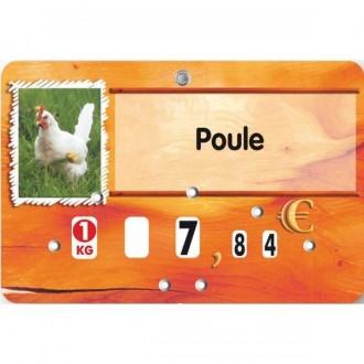 Etiquettes pour boucheries - Devis sur Techni-Contact.com - 5
