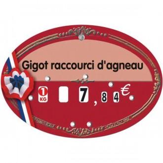 Etiquettes pour boucheries à 4 roulettes prix - Devis sur Techni-Contact.com - 2
