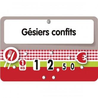 Etiquettes pour boucheries à pique inoxydable - Devis sur Techni-Contact.com - 1