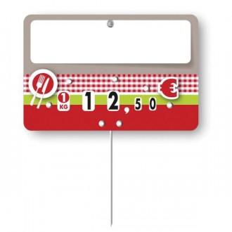 Etiquettes pour boucheries à pique inoxydable - Devis sur Techni-Contact.com - 2