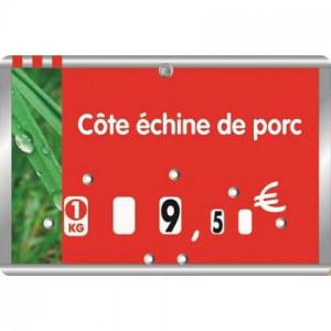 Etiquettes pour boucheries à roulettes - Devis sur Techni-Contact.com - 2