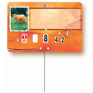 Etiquettes pour boucheries bœuf et veau - Devis sur Techni-Contact.com - 2
