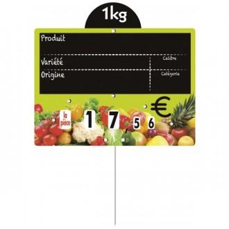 Étiquettes pour fruits et légumes à pique inox - Devis sur Techni-Contact.com - 2