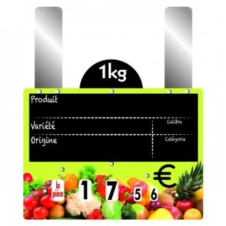 Etiquettes prix fruits et légumes à grandes pattes - Devis sur Techni-Contact.com - 2