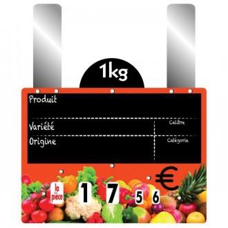 Etiquettes prix fruits et légumes à grandes pattes - Devis sur Techni-Contact.com - 4