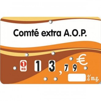 Etiquettes prix pour crèmeries - Devis sur Techni-Contact.com - 2