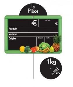 Etiquettes prix pour fruits et légumes - Devis sur Techni-Contact.com - 2