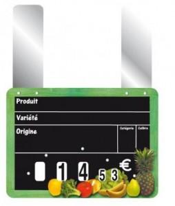 Etiquettes prix pour fruits et légumes - Devis sur Techni-Contact.com - 3