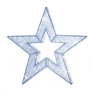 Déco étoile de noël 3D - Devis sur Techni-Contact.com - 1