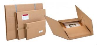 Etui postal carton pour tableaux - Devis sur Techni-Contact.com - 1