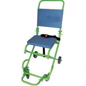 Chaise d'évacuation 3 roues et portoir 4 roues - Devis sur Techni-Contact.com - 3