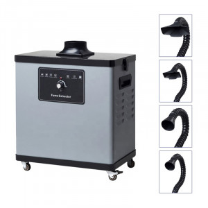 Extracteur de fumées de soudure 220V 80W 235m³/h  - Devis sur Techni-Contact.com - 2