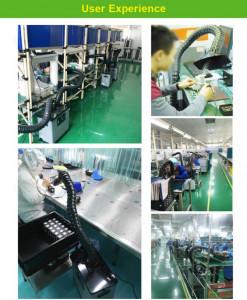 Extracteur de fumées de soudure 220V 80W 235m³/h  - Devis sur Techni-Contact.com - 9