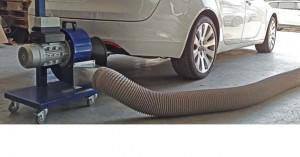 Extracteur gaz d'échappement - Devis sur Techni-Contact.com - 1