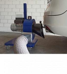 Extracteur gaz d'échappement - Devis sur Techni-Contact.com - 2