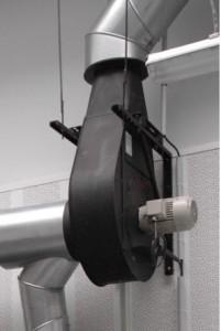 Extracteurs de fumée avec fixation sur la hotte ou au mur - Devis sur Techni-Contact.com - 1