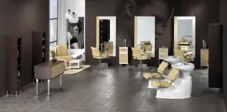 Fauteuil accoudoirs aluminium pour salon de coiffure - Devis sur Techni-Contact.com - 3