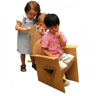Fauteuil carton enfant - Devis sur Techni-Contact.com - 4