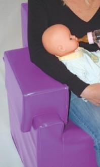 Fauteuil d'allaitement à bras amovible - Devis sur Techni-Contact.com - 2