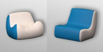 Fauteuil gonflable personnalisable - Devis sur Techni-Contact.com - 1