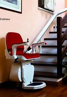 Fauteuil monte-escalier courbe - Devis sur Techni-Contact.com - 1