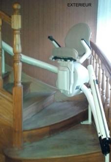 Fauteuil monte-escalier courbe - Devis sur Techni-Contact.com - 3