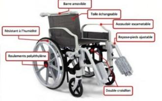 Fauteuil roulant amagnétique - Devis sur Techni-Contact.com - 3