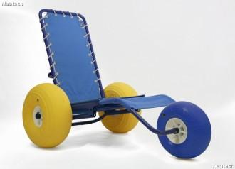 Fauteuil roulant spécial plage - Devis sur Techni-Contact.com - 2