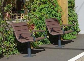 Fauteuil urbain en plastique recyclé - Devis sur Techni-Contact.com - 2