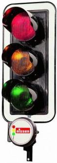 Feu tricolore de chantier LZA 400 LED - Devis sur Techni-Contact.com - 1