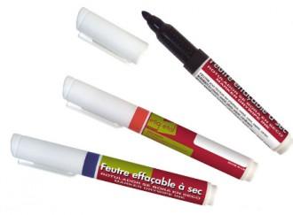 Feutres effaçables à sec 3 couleurs - Devis sur Techni-Contact.com - 1